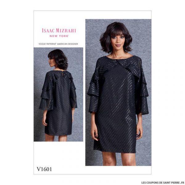 Patron Vogue V1601 : Robe