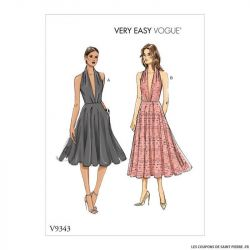 Patron Vogue V9343 : Robe