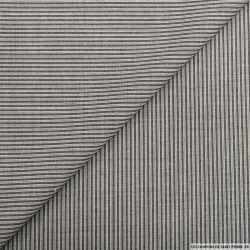 Lainage tailleur rayures gris