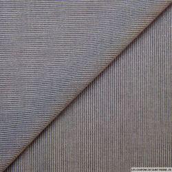 Polyviscose rayé marine