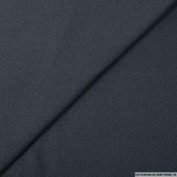Gabardine de laine marine