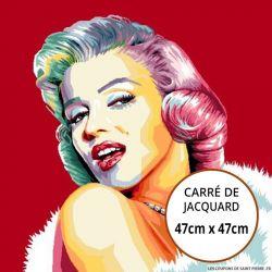 Jacquard Marilyn Monroe - 47cm x 47cm