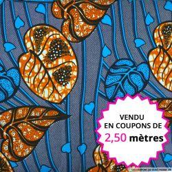 Wax africain jungle d'amour, vendu en coupon de 2,50 mètres