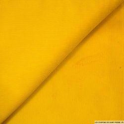 Velours côtelé moutarde