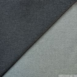 Jean's coton polyester anthracite