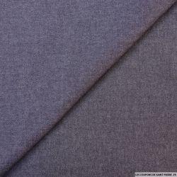 Jean's coton polyester indigo