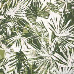 Coton imprimé jungle