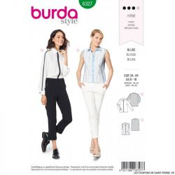 Patron Burda 6327 -Chemisier classique