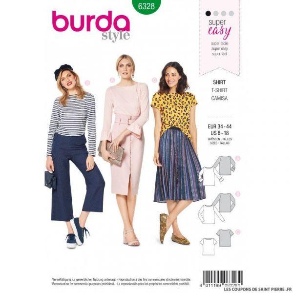 Patron Burda 6327 -