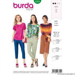Patron Burda 6328 -