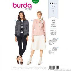 Patron Burda 6334 -