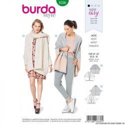 Patron Burda 6336 -