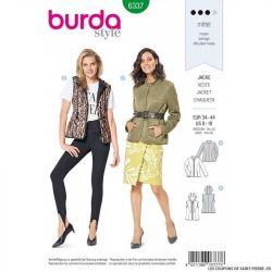 Patron Burda 6337 -