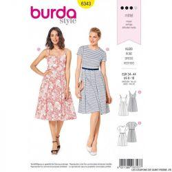 Patron Burda 6343 -