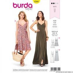 Patron Burda 6344 -