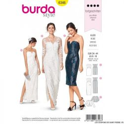 Patron Burda 6346 -