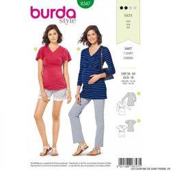 Patron Burda 6347 -