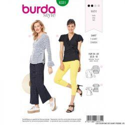 Patron Burda 6331 - Cache coeur
