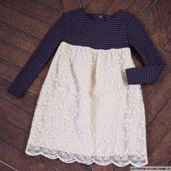 Patron Modes & Travaux - Manteau faux mouton pour fillette et poupée