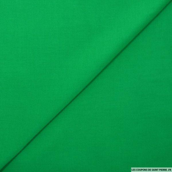 Voile de viscose vert