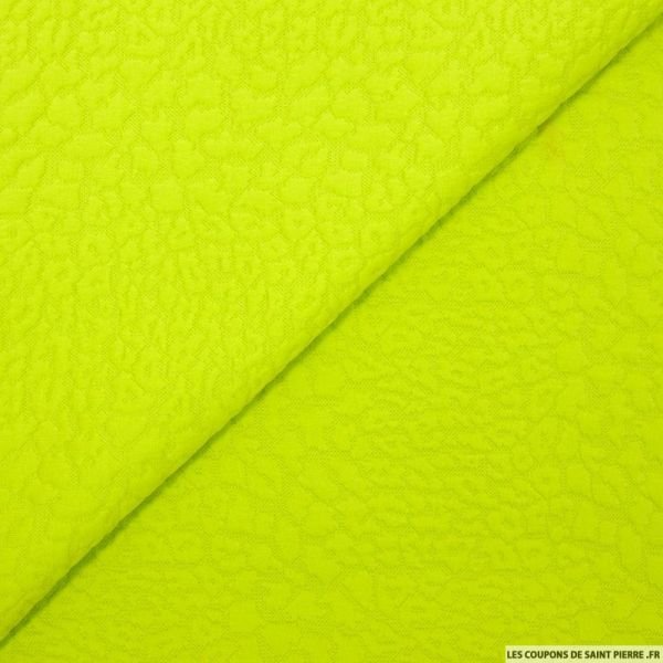 Jersey jacquard fantaisie turquoise
