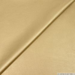 Simili cuir doré