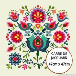 Jacquard Let's go - 47cm x 47cm