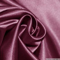 Satin Polyester uni prune