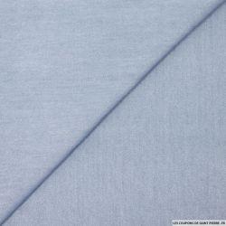 Tencel jeans irisé clair