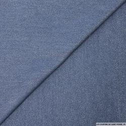 Tencel jeans irisé foncé