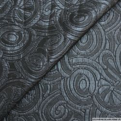 Brocard polyester bleu nuit ruban fantaisie