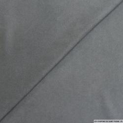 Chamoisine polyviscose gris