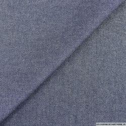 Jean's coton bleu irisé argent