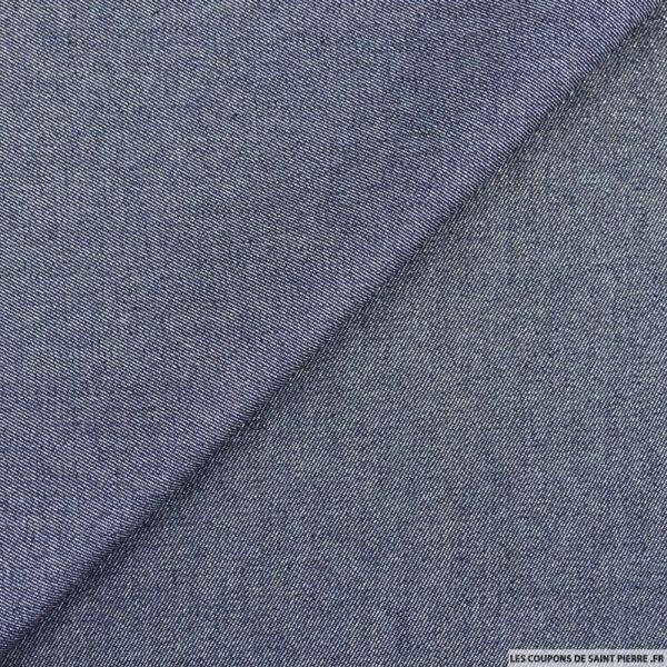 Jean's coton bleu irisé