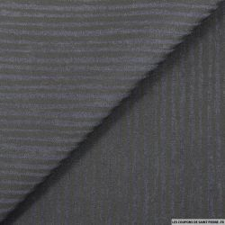 Jean's coton élasthane bleu nuit rayures