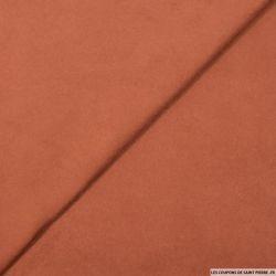 Chamoisine polyviscose terracotta