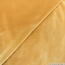 Velours jersey doré