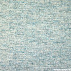 Coton imprimé granite vert