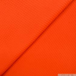 Jacquard torsade orange