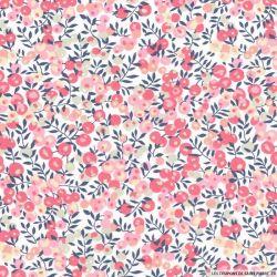 Coton liberty ® Wiltshire rose au mètre