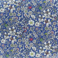 Coton liberty ® June's meadow bleu au mètre