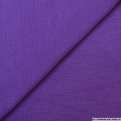 Jersey tricot violet