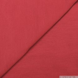 Jersey tricot rouge