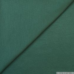 Jersey tricot vert bouteille