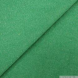 Bourrette de soie teint vert