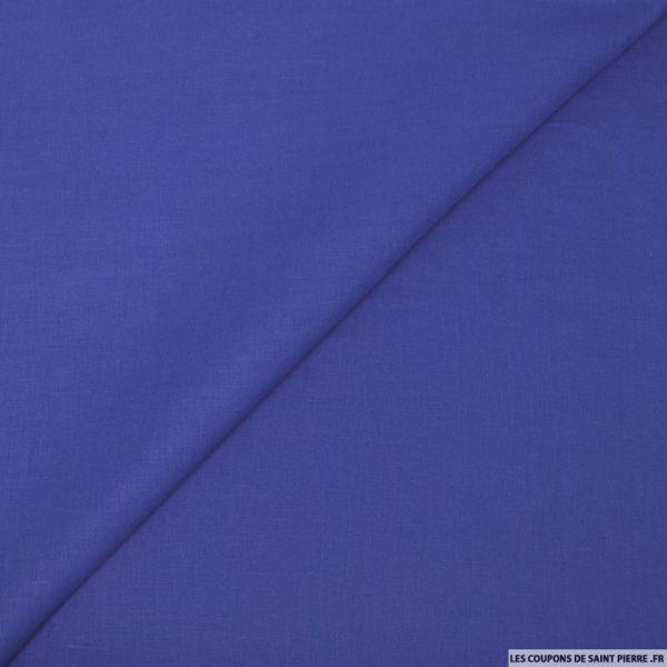 100% Lin bleu roi