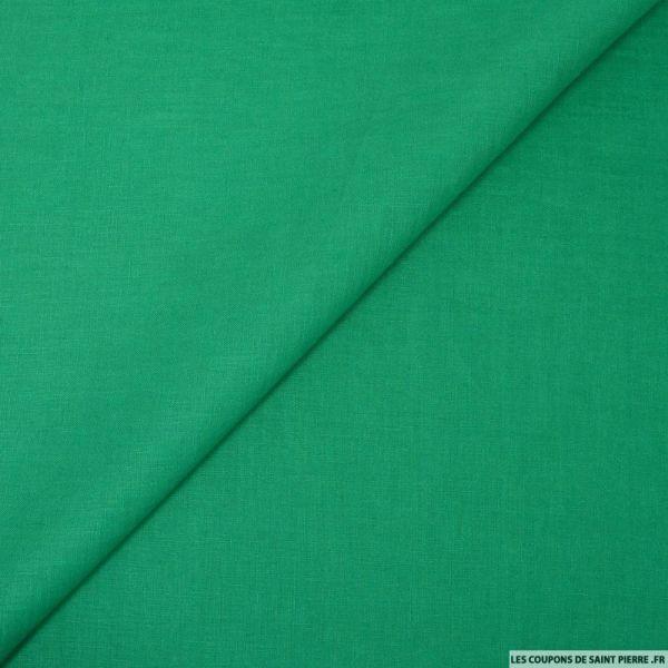 100% Lin vert gazon