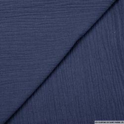 Double gaze jean bleu