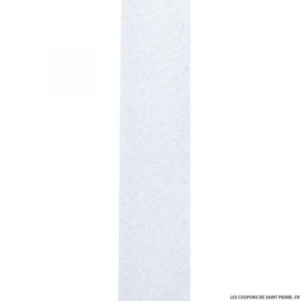 Auto aggripant à coudre à crochet blanc 20 mm