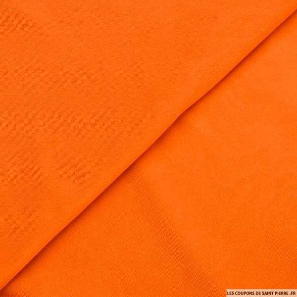 Maille maillot de bain orange